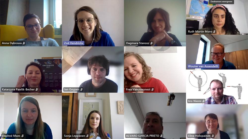 Online meeting II